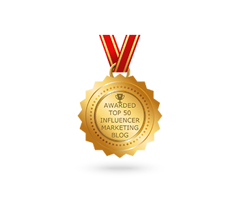 Awarded Top 50 Influencer Marketing Blog - TIA