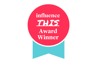 influence this award winner Logo