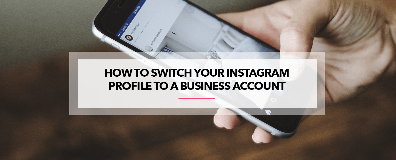 How to switch Instagram account to business account