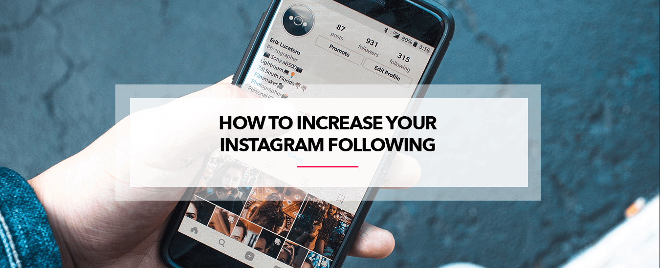 How to increase your instagram following