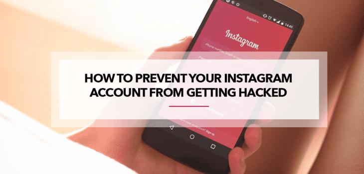 Instagram hack prevention