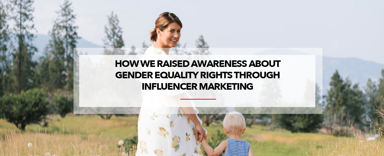 influencer content for plan canada change the birth story