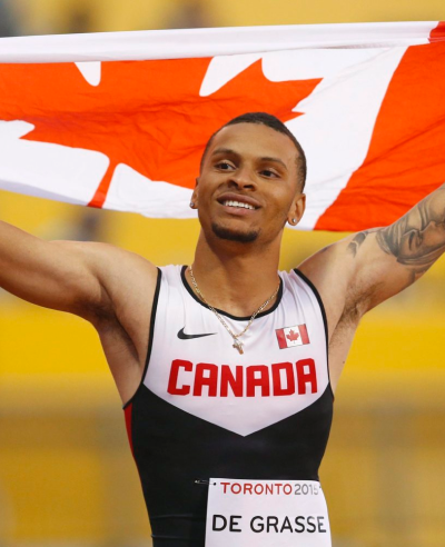 Influencer Marketing For athletes- Andre de Grasse