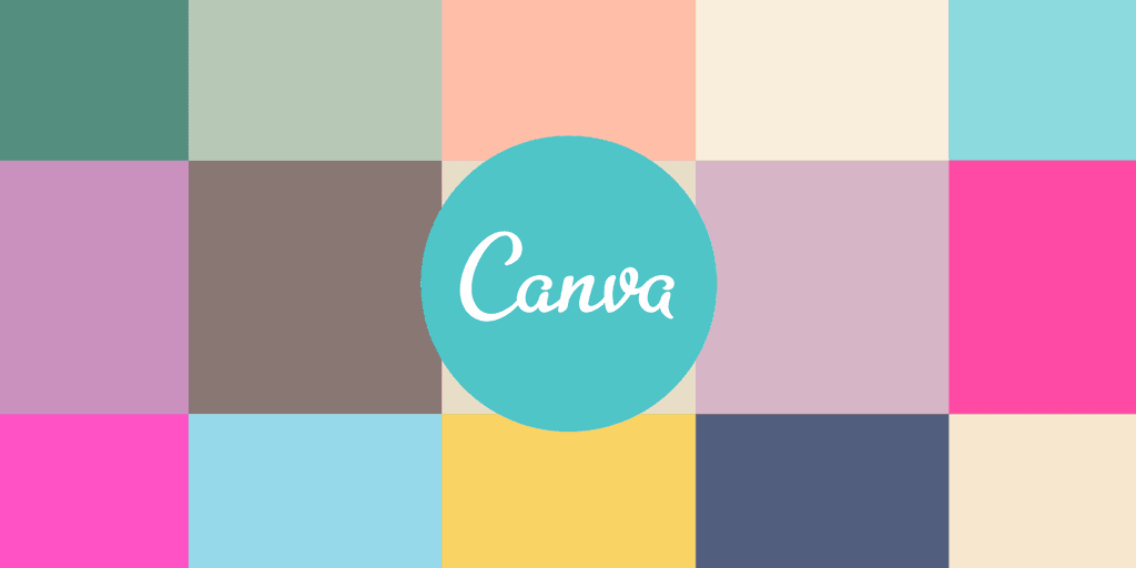 canva marketing tool logo with colour