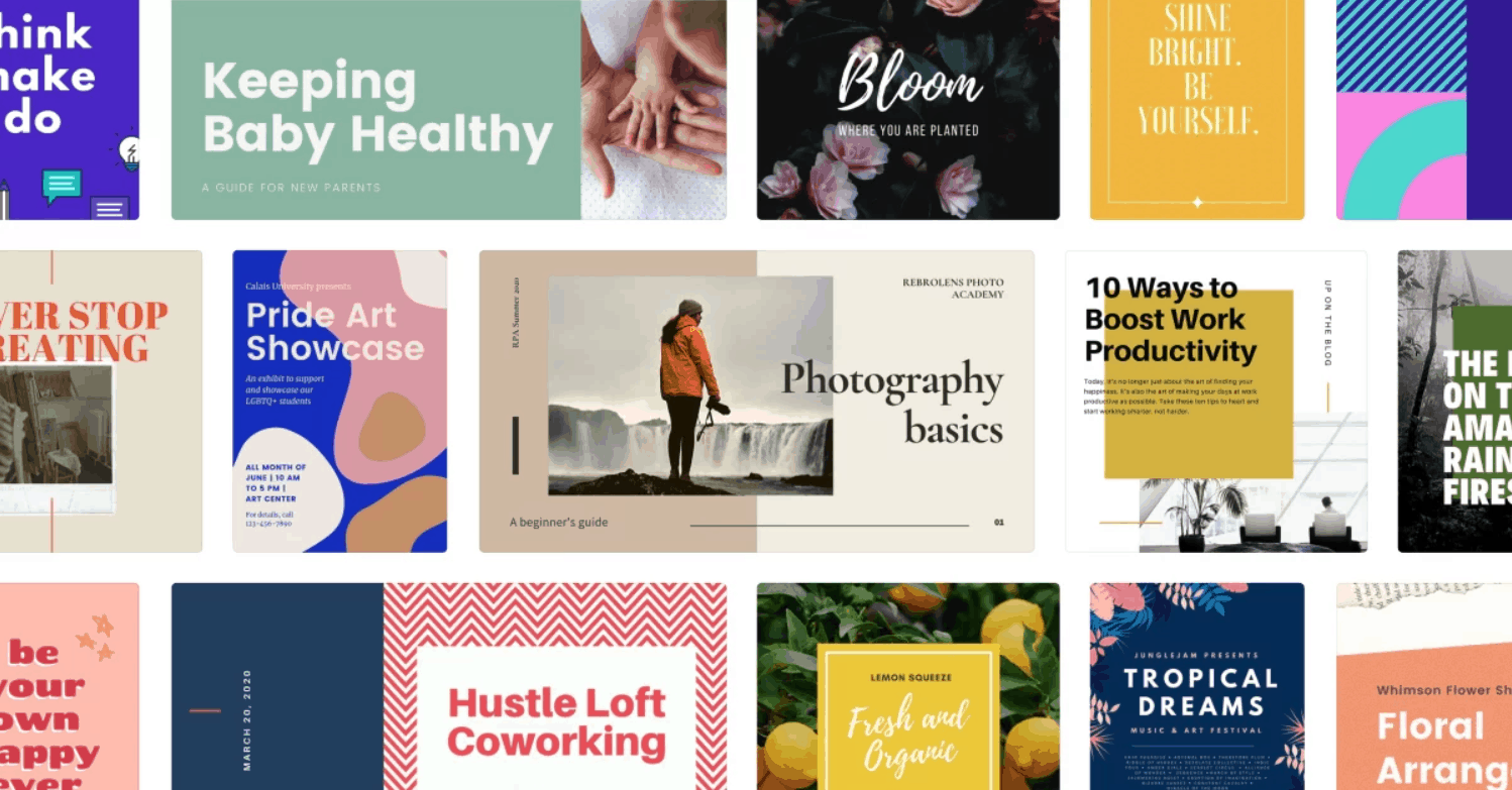 canva marketing tool templates