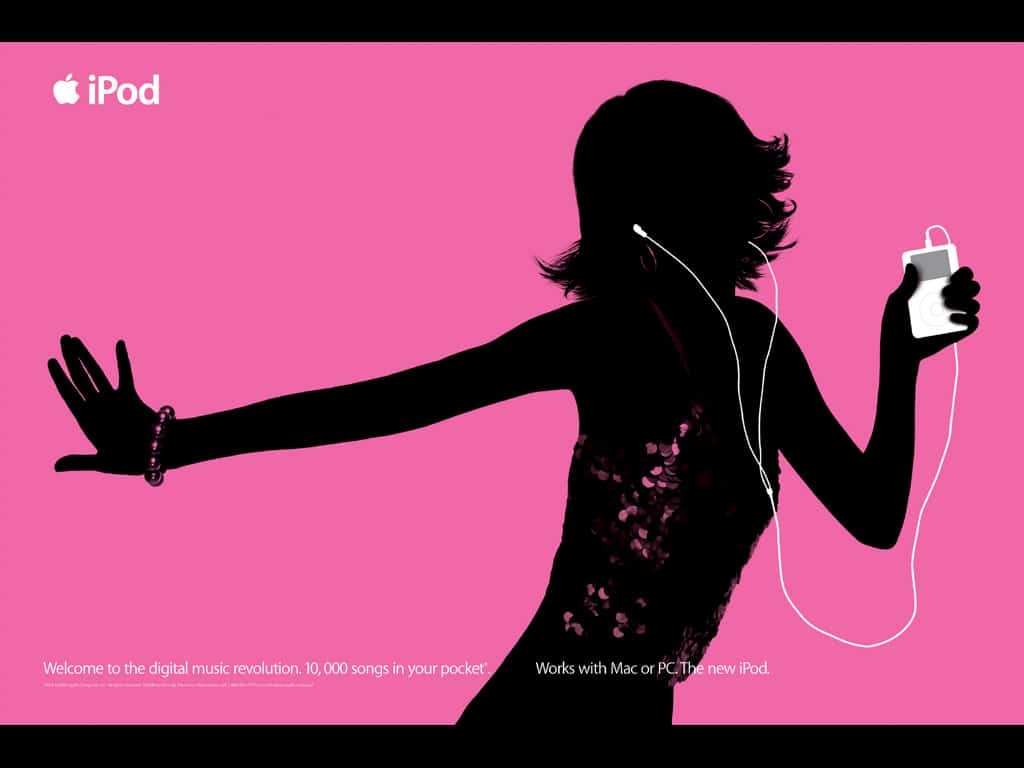 Apple iPod silhouettes marketing campaign