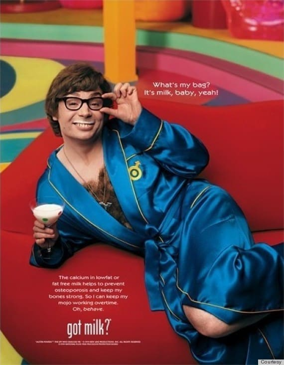 Michael Meyers Austin Powers Got Milk Campaign 2000