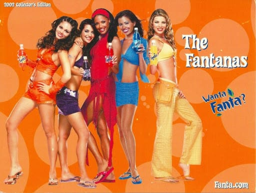 the original Fantanas 2002 marketing campaign