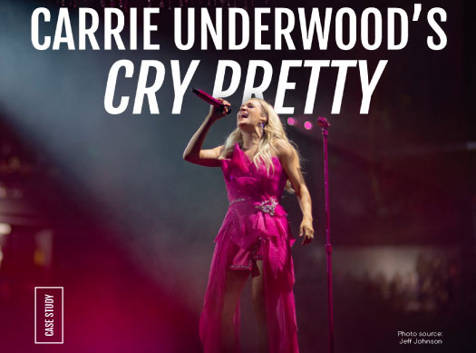 Carrie Underwood's Cry Pretty
