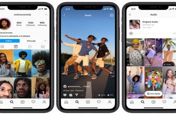 Instagram Reels, the new short-form video feature on Instagram.