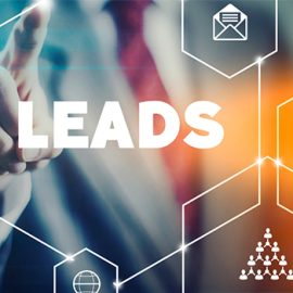 Image of digital marketing focusing on leads