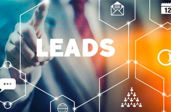Image of digital marketing focusing on leads