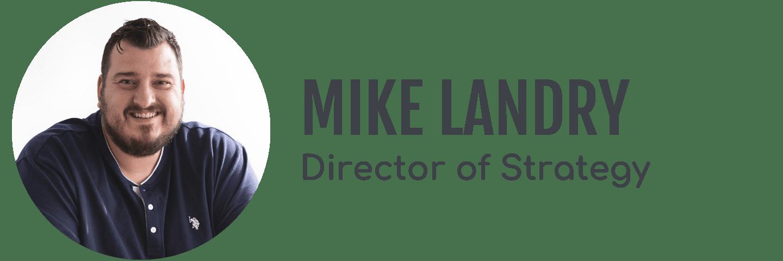 Mike Landry's headshot