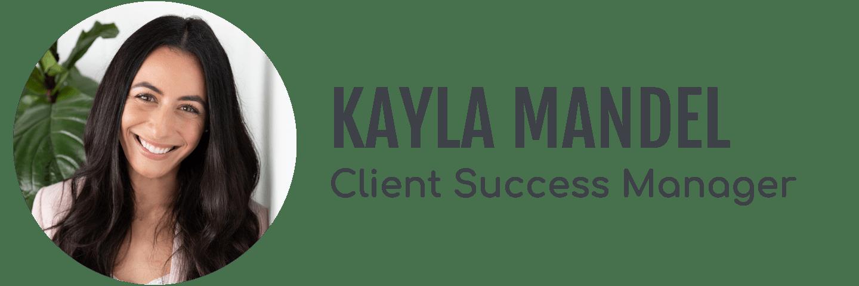 Kayla Mandel's headshot