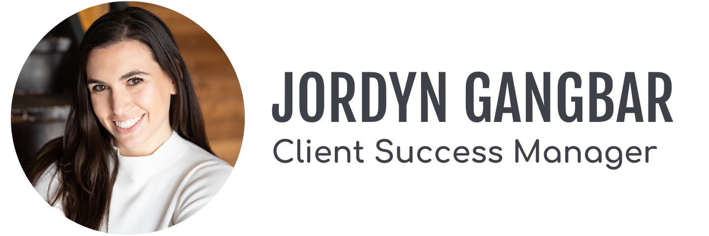 Client Success Manager Jordyn Gangbar's headshot