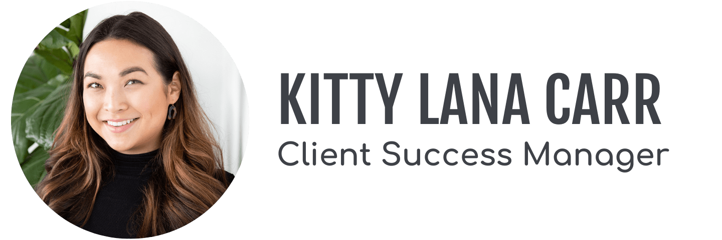 Client Success Manager Kitty Lana Carr's headshot