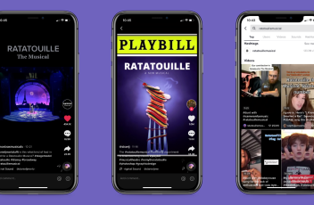 Screenshots of The Ratatouille Musical from TikTok