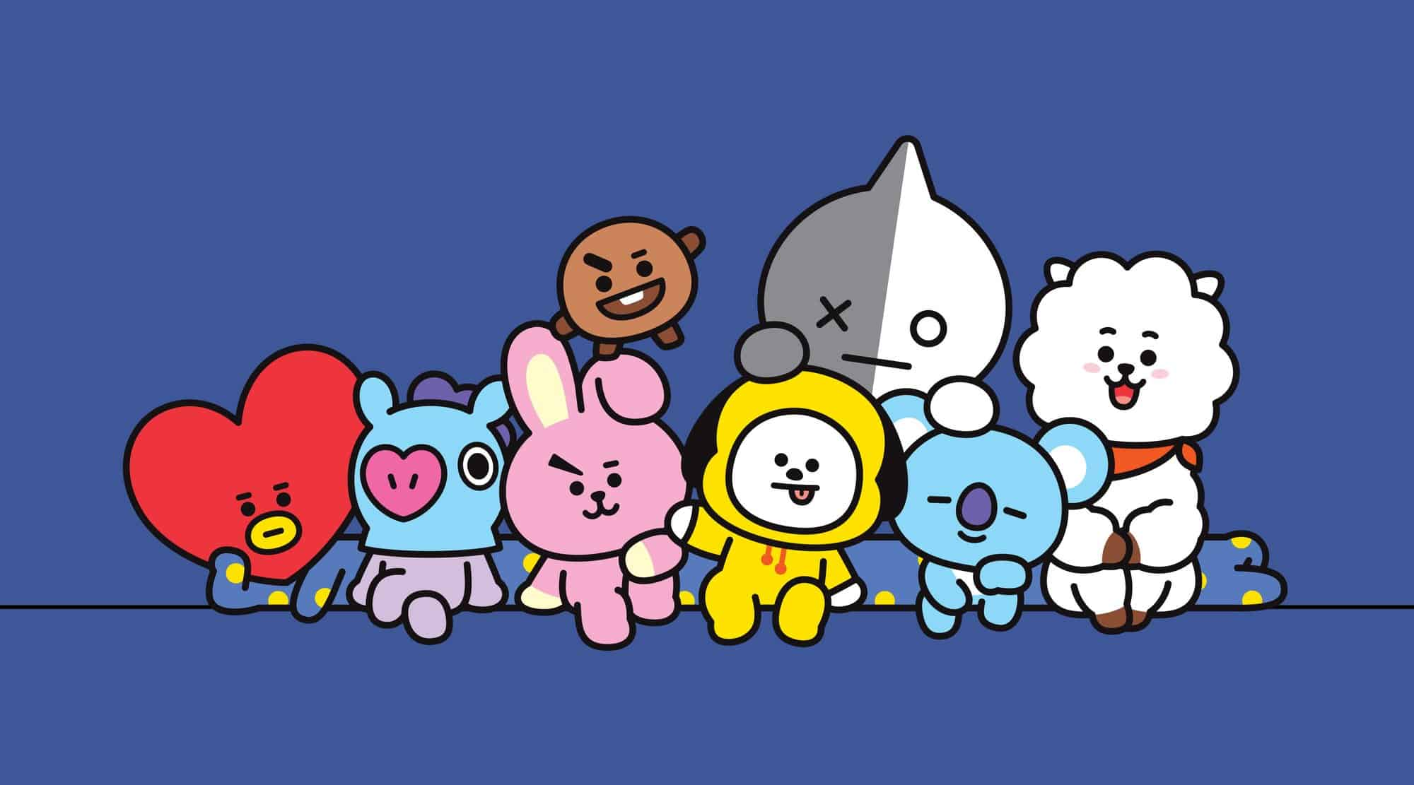 BT21 | Image from the Line Friends Store