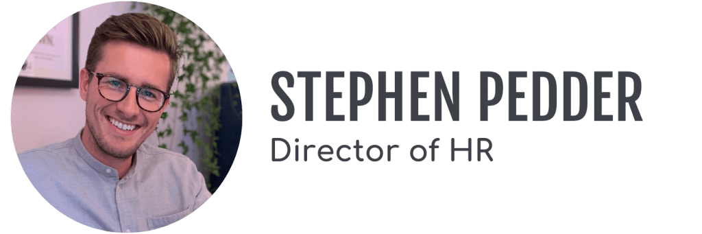 Stephen Pedder, Director of HR