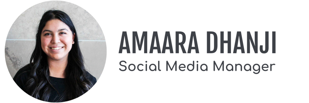 Amaara Dhanji, Social Media Manager