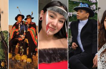 Collage of 5 Indigenous Creators