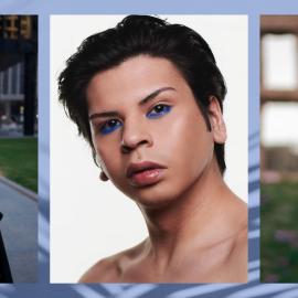 Three photos of Scott Wabano