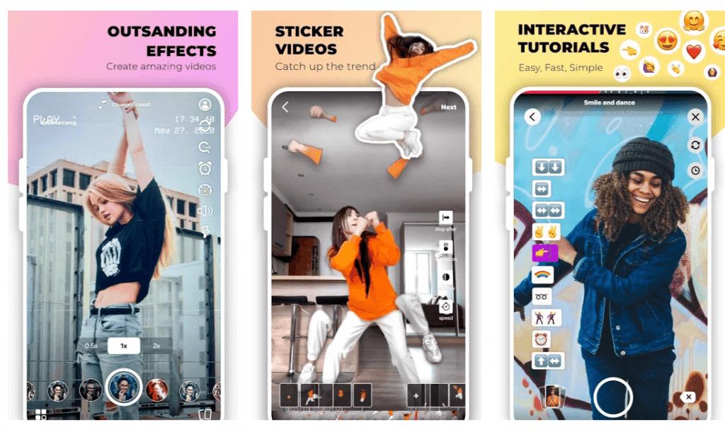 Zoomerang editing interface Photo via Google Play store