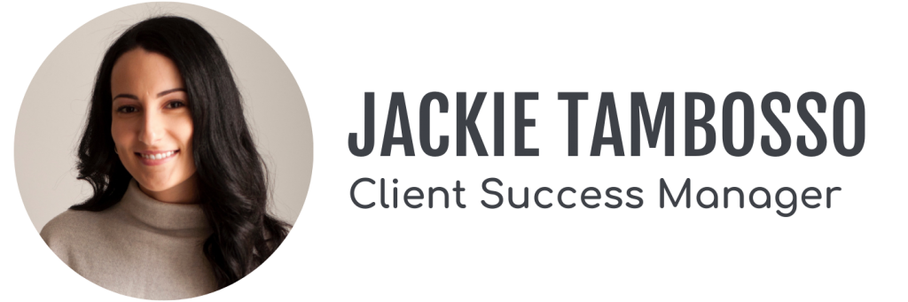 Jackie Tambosso, Client Success Manager