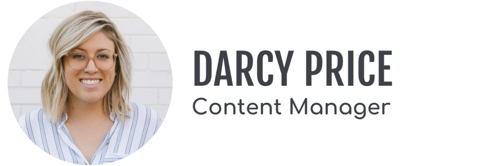 Darcy Price, Content Manager