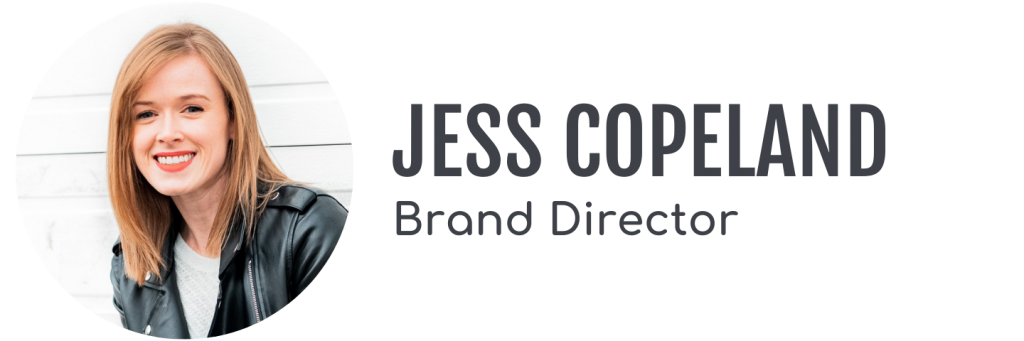Jess Copeland, Brand Director